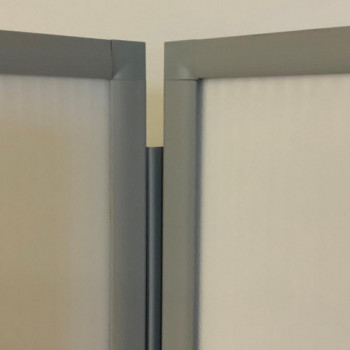 Wipeable Folding Privacy Booth - FREE Delivery