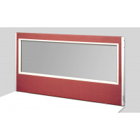 Glazed Infection Protection Desk Divider (choice of height's/ width's)