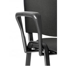 Iso Black Shaped Arm Set