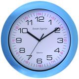 Blue Acrylic Cased Clock