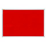 Felt Pin Board X-tra!line® 60 X 45 Cm Red