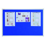 Felt Pin Board X-tra!line® 180 X 120 Cm Blue