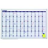 Franken Valueline Annual Planning Whiteboard, Magnetic, 90 X 60 Cm