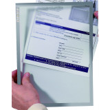 Document Holder X-tra!line® Din A4 Magnetic Grey 1 Piece