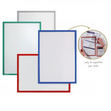 Valueline Document Holder Din A5, Magnetic, Red, 1 Piece