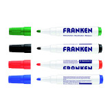 Board Markers 4 Pieces Various Colours