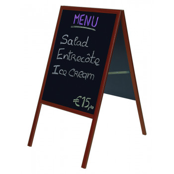 A-board Blackboard. Board Size: 536x836mm