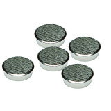 16mm Chrome Magnets Pack 5
