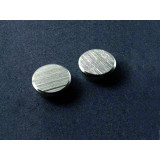 Chrome Magnets, Size (Ø): 25 Mm, Adhesive Force: 13 Kg, Colour: Silver, 2 Pieces
