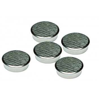 25mm Chrome Magnets Pack 5