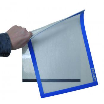 Felt Pin Board Contract Line 90 X 60cm Blue