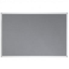 Felt Pin Board Contract Line 90 X 60cm Grey