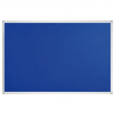 Felt Pin Board Contract Line 120 X 90cm Blue