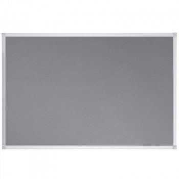 Felt Pin Board Contract Line 120 X 90cm Grey