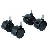 Castors For Premiumline Boards, 40 Mm, 4 Pieces