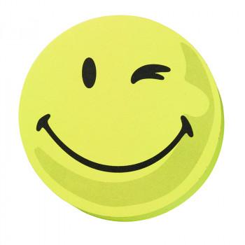 Evaluation Symbols, 9.5 Cm Dia., Yellow, Positive, 100 Pieces, Self-adhesive