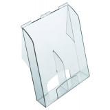 Brochure Holder Pro, A4 / Long, Capacity 61 Mm, Acrylic