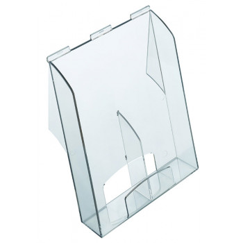 Brochure Holder Pro, A4 / Long, Capacity 61 Mm, Acrylic