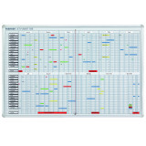 Annual Planner Set, Day Grid, 4 X 7.5 Mm, 90 X 60 (w X H), Incl• Accessories