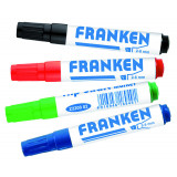 Flipchartmarkers, Line Width 2 - 6 Mm, 4 Pieces, Assorted Colours