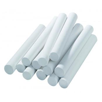 Chalk, 7 X 70 Mm, White, 12 Pieces