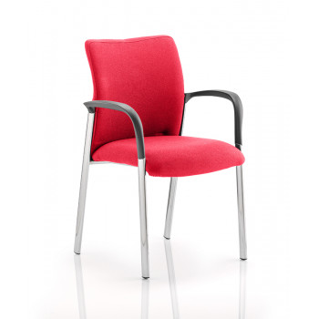Academy Bespoke Colour Fabric Back And Bespoke Colour Seat With Arms Bergamot Cherry