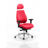 Chiro Plus Headrest Bespoke Colour Bergamot Cherry