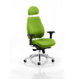 Chiro Plus Headrest Bespoke Colour Myrrh Green