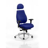Chiro Plus Headrest Bespoke Colour Stevia Blue
