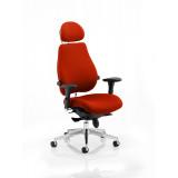 Chiro Plus Headrest Bespoke Colour Tabasco Red