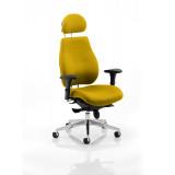 Chiro Plus Headrest Bespoke Colour Senna Yellow