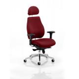 Chiro Plus Headrest Bespoke Colour Ginseng Chilli