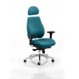 Chiro Plus Headrest Bespoke Colour Maringa Teal