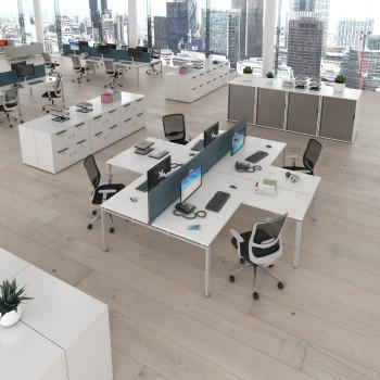 Adapt Add On Single Return Desk