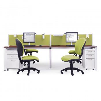 Adapt Back To Back Desks 1600mm Deep