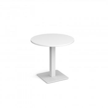 Brescia Circ Dining Table Square Base