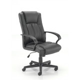 Casino Ii Leather Chair - Black