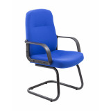 Canasta Visitor Fabric Chair - Royal Blue