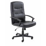 Canasta Ii Pu Chair - Black