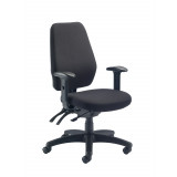 Call Centre Chair Without Seat Slide - Charcoal