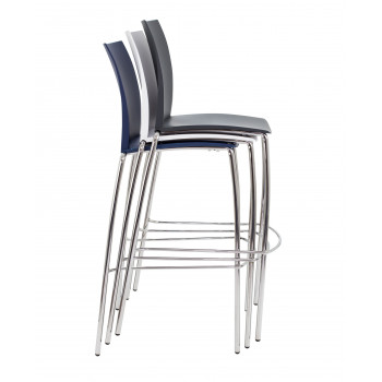 Adapt 4 Leg High Chair - Blue