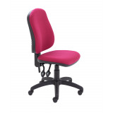 Calypso Ii High Back Chair - Claret