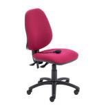 Calypso Ergo Chair - Claret