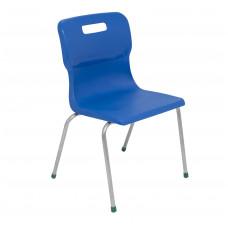 Titan 4 Leg Chair Size 5 - 430mm Seat Height - Blue