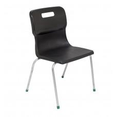 Titan 4 Leg Chair Size 5 - 430mm Seat Height - Black