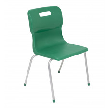 Titan 4 Leg Chair Size 5 - 430mm Seat Height - Green