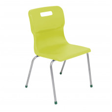 Titan 4 Leg Chair Size 5 - 430mm Seat Height - Lime