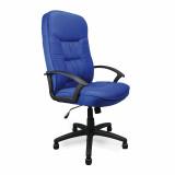 Coniston- High Back Fabric Executive Armchair - Blue