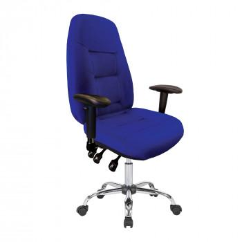 Babylon-24 Hour Operator Chair- Fabric- Blue