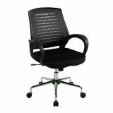 Carousel- Mesh Back Operator'S Chair - Black